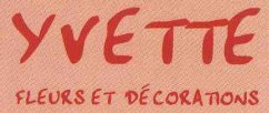 Logo Yvette Fleurs et decorations