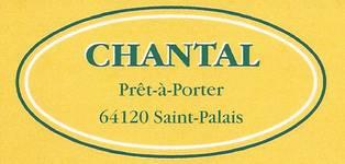 Carte Visite Chantal Pret A Porter